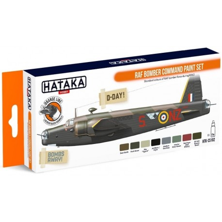 ORANGE LINE – RAF Bomber Command paint set
