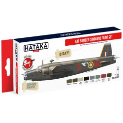 RED LINE – RAF Bomber Command paint set