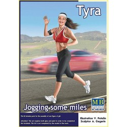 Jogging some miles. Tyra (1/24)