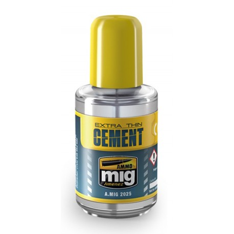 Cola AMMO MiG EXTRA THIN CEMENT (25g)