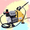 Compressor + airbrush HAOSHENG AS18CK