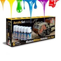 Modern Military Vehicles U.S./NATO - Acrylic set (6 pcs x 20 ml)