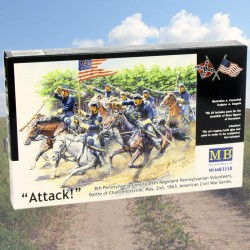Attack - 8th Pennsylvania Cavalry 89th Regiment Pennsylvanian Volunteers