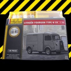 "1/24 Citroen Fourgon HY ""Tube"" (set with paints)"