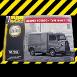 "1/24 Citroen Fourgon HY ""Tube"""