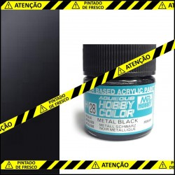 Tinta Mr. Hobby H28 tom metal negro