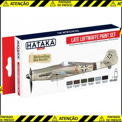 Late Luftwaffe paint set