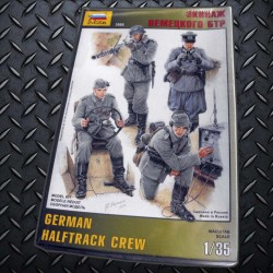 German Halftrack Crew