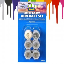 Tintas acrilicas Revell Military Aircraft Set (6 x 5 ml)