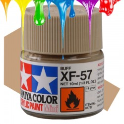 Acrylic Mini XF-57 Buff - 10ml Bottle