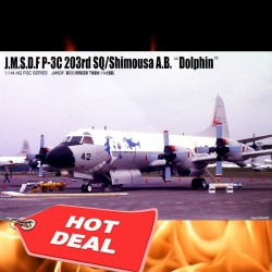 "1/144 Lockheed P-3C Orion JMSDF - 203 Sqn Shimousa Air Base ""Dolphin"""
