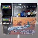 1/144 Embraer 195 AIR DOLOMITI (Model Set)