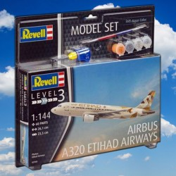 1/144 Model Set Airbus A320 ETIHAD AIRWAYS