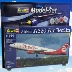 1/144 Model Set Airbus A320 AIRBERLIN