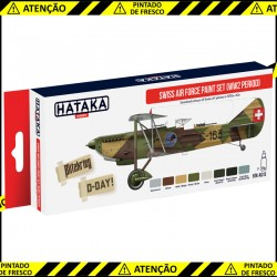 Swiss Air Force Paint Set (WW2 period)