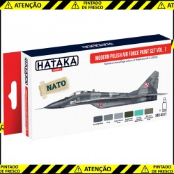Conjunto de tintas Modern Polish Air Force vol. 1