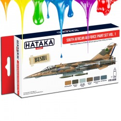 South African Air Force paint set vol. 1