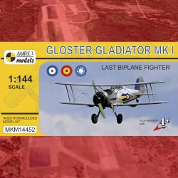 "1/144 Gloster Gladiator Mk.I ""Last Biplane Fighter"""