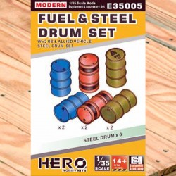 1/35 Fuel & Steel Drum Set