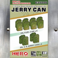 1/35 WW2 US & Allied Vehicles Jerry Can Set