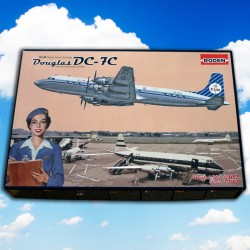 1/144 Douglas DC-7C KLM Royal Dutch Airlines