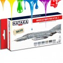 Conjunto de tintas Modern Luftwaffe paint set vol. 3