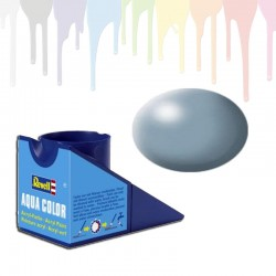 Revell Grey, silk RAL 7001 Aqua Color (18ml)