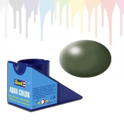 Revell Olive Green RAL 6003, silk Aqua Color (18ml)