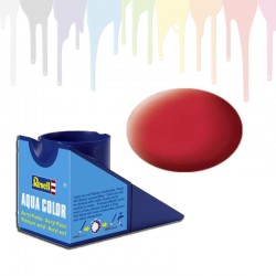 Revell Carmine red RAL 3002, matt Aqua Color (18ml)