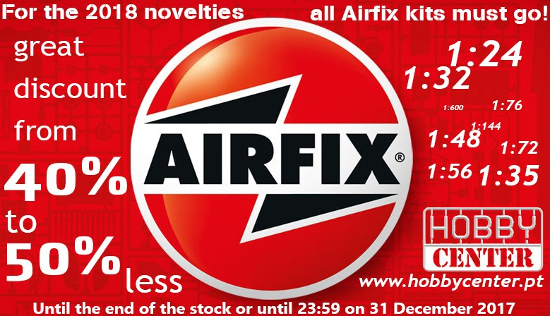 For the 2018 novelties, all Airfix kits must go!!