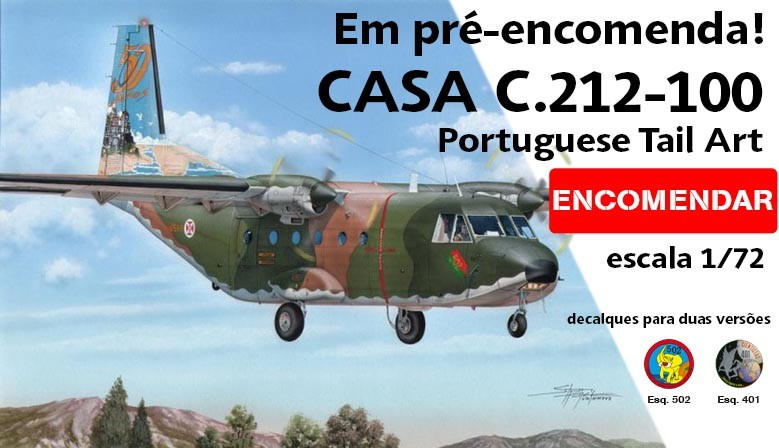 Casa C.212-100 Portuguese Tail Art Special Hobby SH72376