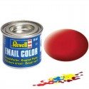 Carmine red, mat RAL 3002 14 ml-tin
