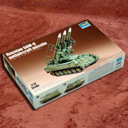 1/72 Russian SAM-6 antiaircraft missile