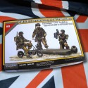 1/35 WWII British Paratroopers with Welbikes