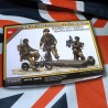WWII British Paratroopers with Welbikes (1/35)