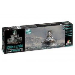 World of Warships - German Battleship Bismarck (1/700)