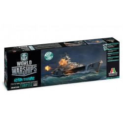 World of Warships - German Battleship TIRPITZ (1/700)