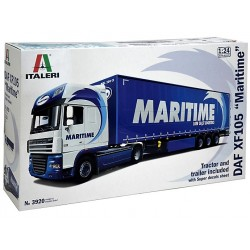 1/24 DAF XF105 with MARITIME Trailer