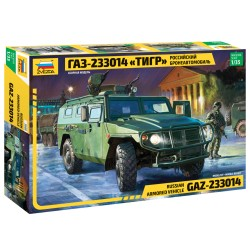 "1/35 Russian Armored Vehicle GAZ-233014 ""Tiger"""