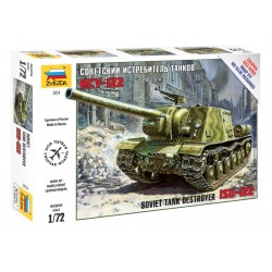 1/72 Soviet tank destroyer ISU-122