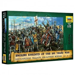 1/72 English Knights of the 100 Years War