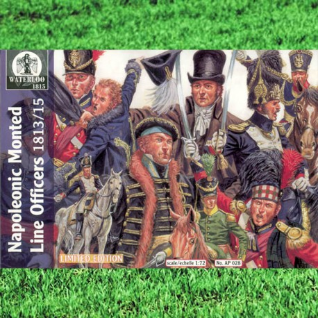 NAPOLEONIC MONTED LINE OFFICERS 1813/15