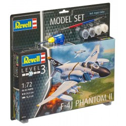 1/72 Model Set F-4J Phantom II