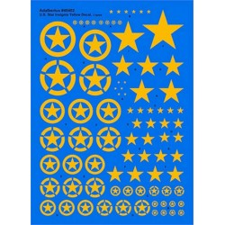 1/48 US Star Insignia Yellow