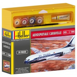 1/200 Aerospatiale Caravelle (set w/ paints)