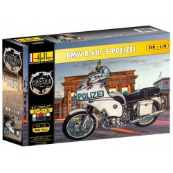 1/8 BMW R60/5 Polizei (set with paints)