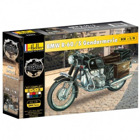 1/8 BMW R60/5 Gendarmerie (set with paints)