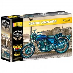 Norton Commando (1/8) conjunto