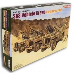 1/35 SAS Vehicle Crews North Africa 1942