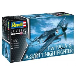 Focke Wulf Fw190A-8, A-8/R11 Nightfighter (1/32)